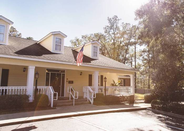 Exterior view of our installations at Tallahassee Memory Care