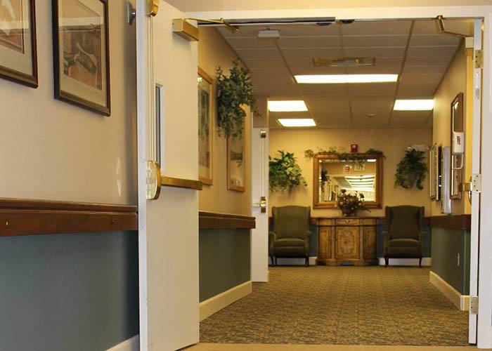 interior of King's Manor Senior Living Community