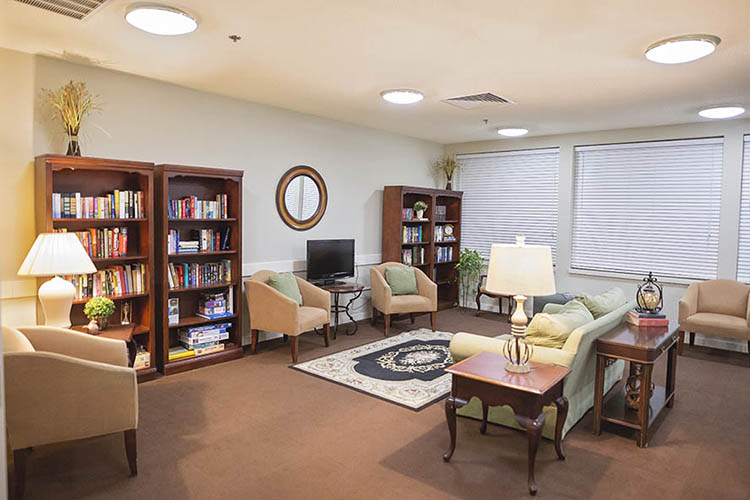Broadmore Senior Living at Johnson City Social Area Small