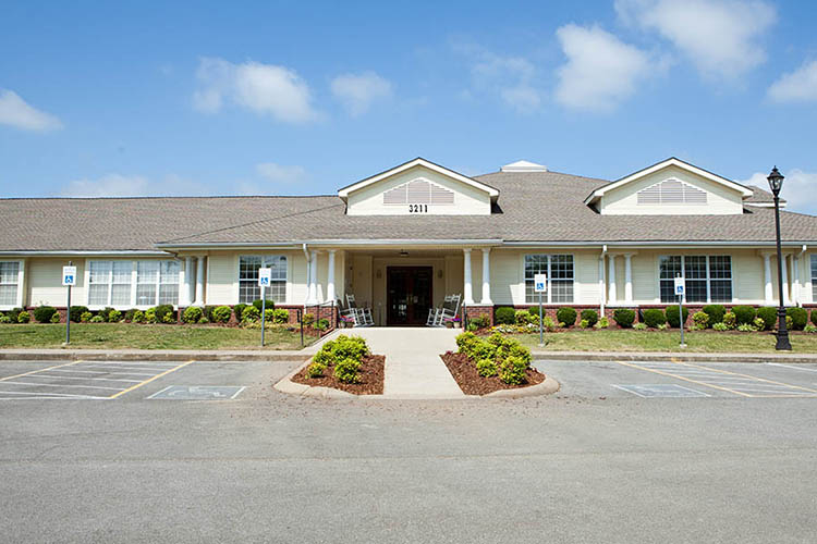 Frontal View Of Broadmore Senior Living at Murfreesboro In Murfreesboro TN