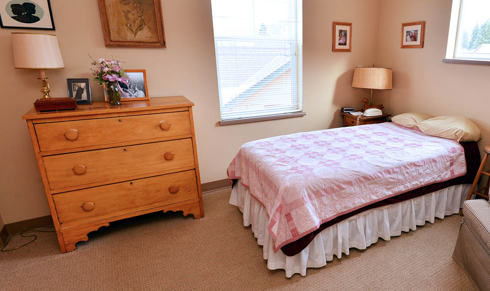 Memory Care Bedroom