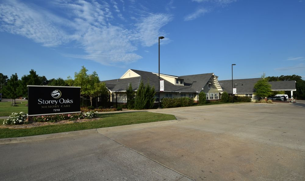 entrance sign  at Storey Oaks of Tulsa in Tulsa,OK