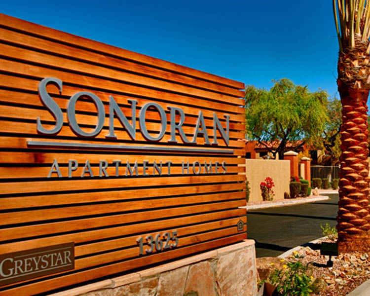 Sonoran front sign