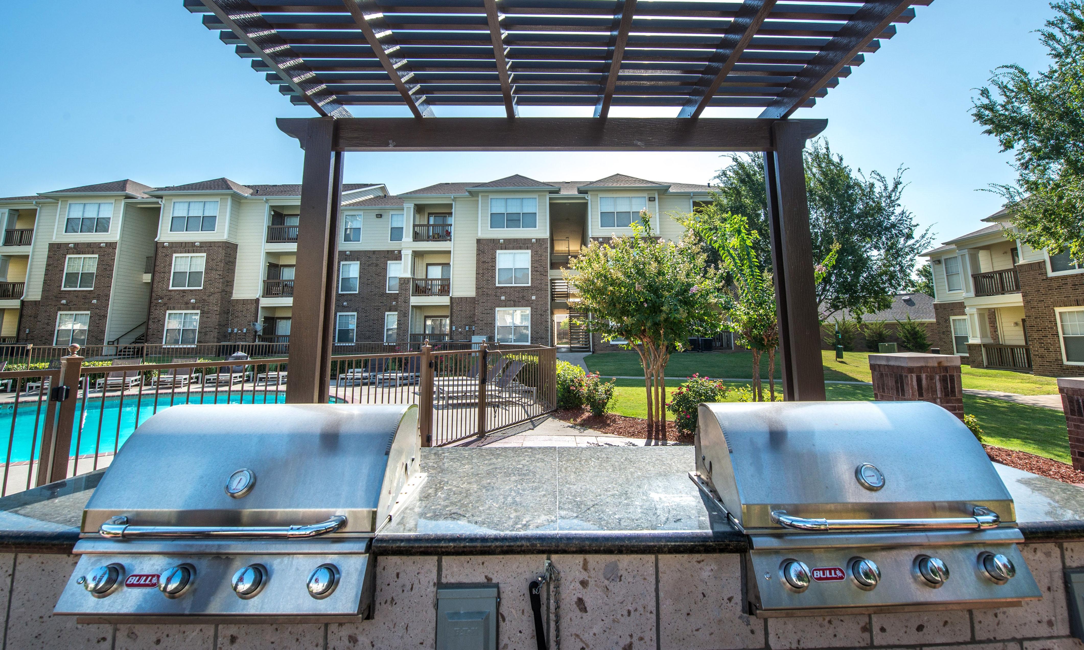BBQs at apartments in Oklahoma City
