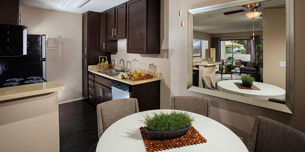 Kitchen at Avana La Jolla Apartments