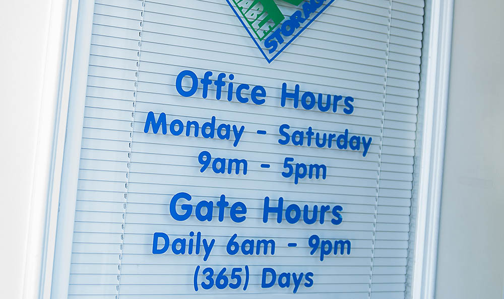 Reliable Storage office hours in Bremerton