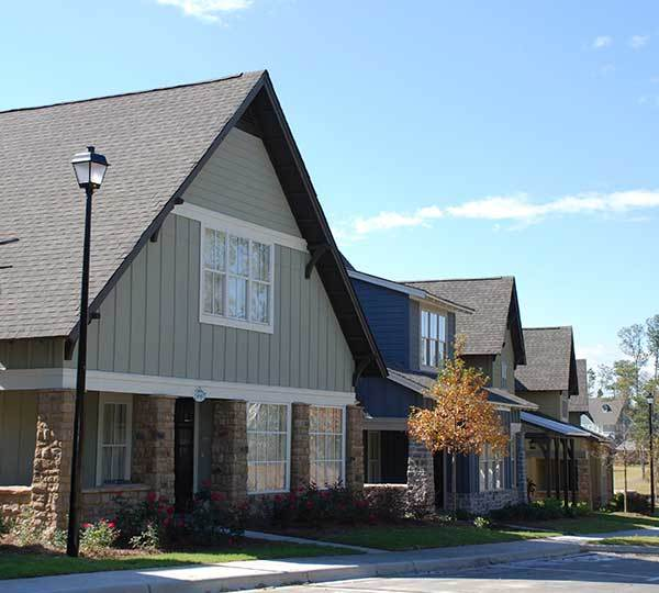 The Cottages of Hattiesburg floor plans