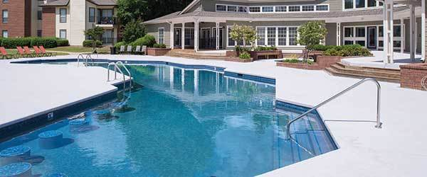Eagles South Apartments has a community pool