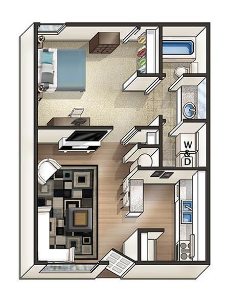 1 Bedroom. 1   2 Bedroom Off Campus Student Housing in Auburn  AL