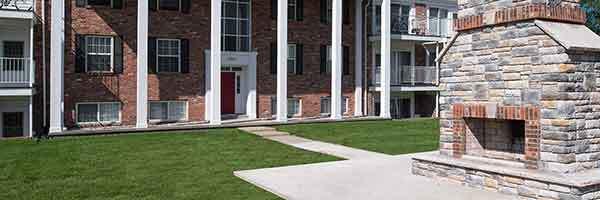 University Hills has a community firepit