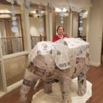 Residents at Heartis Village of Peoria created elephants to celebrate Thai culture