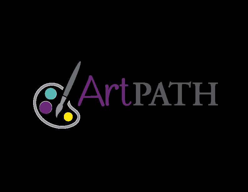 Senior making art at Pathway to Living