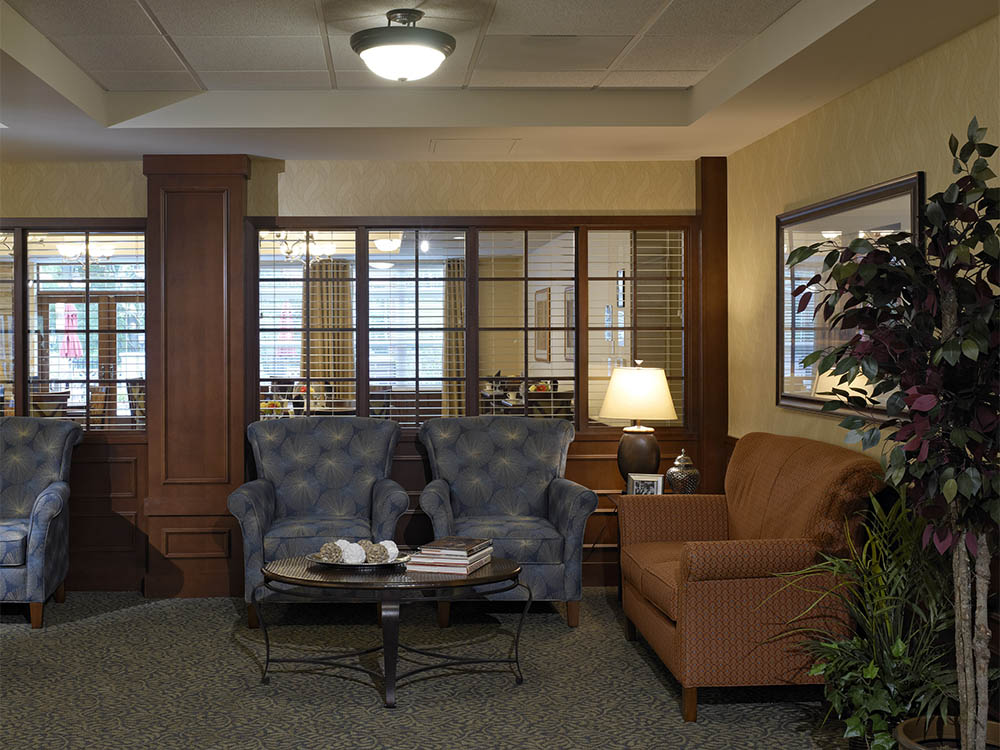 Common area at Oak Hill Supportive Living Community
