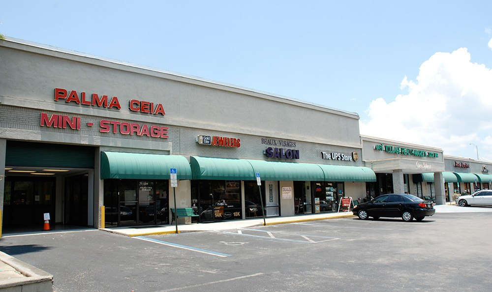You'll love Palma Ceia Air Conditioned Self Storage's convenient location
