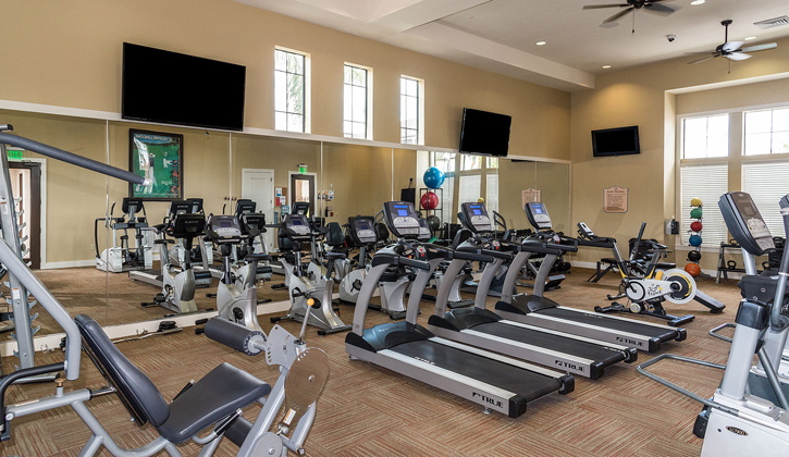 State of the art fitness center at Hacienda Club