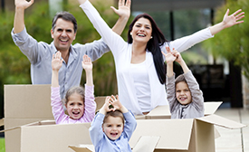 Rent-A-Space has storage units for the families