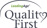 Leading Age - Quality First logo