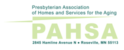 Presbyterian Association for Homes and Services for the Aging logo