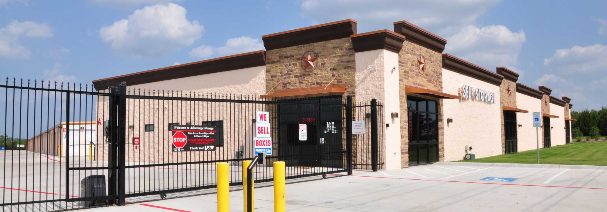 Self storage in Rockwall TX