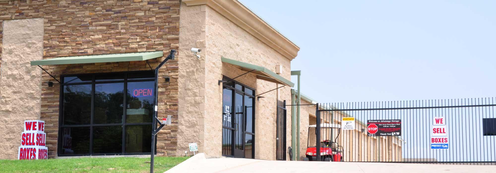 Self storage in Wylie TX
