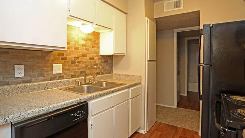 Kitchen area at Toscana Apartments
