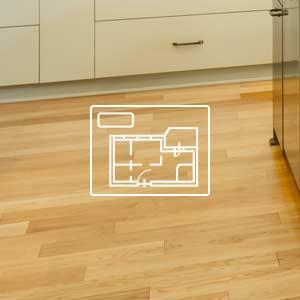 Available floor plans at Oak Creek Apartments