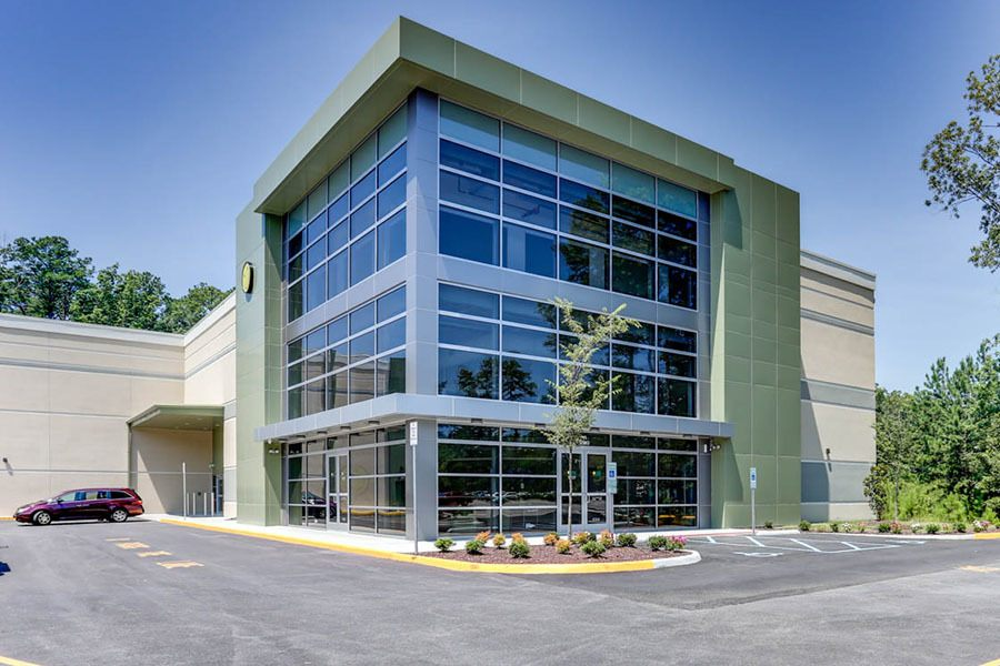 Exterior of our Newport News, VA facility