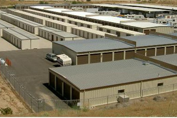 Clean and bright indoor storage available at Bear Valley RV and Self Storage