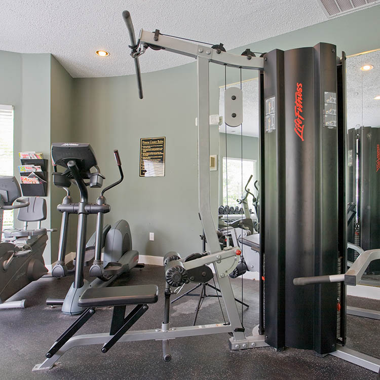 24-hour  Fittness Center Modern Amenities at The Point at Windermere in West Chester