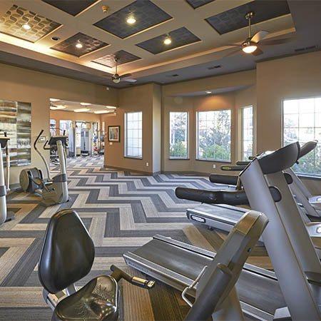 Legend Oaks Apartments gym
