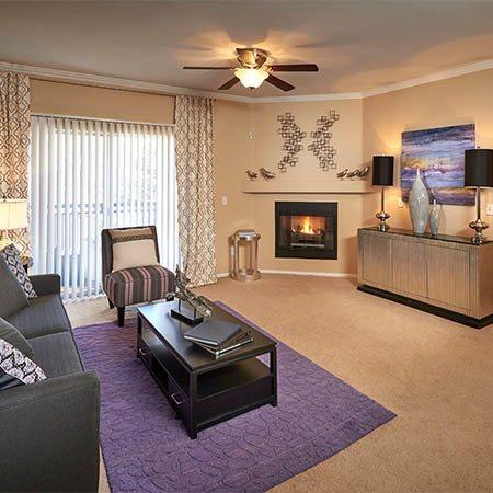 Legend Oaks Apartments living room