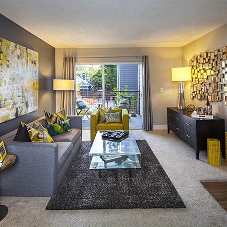 Metro Six55 Apartments living room