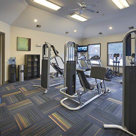 Skyecrest Apartments gym area