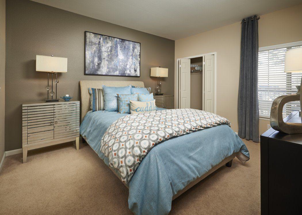 Bedroom at Skyecrest Apartments