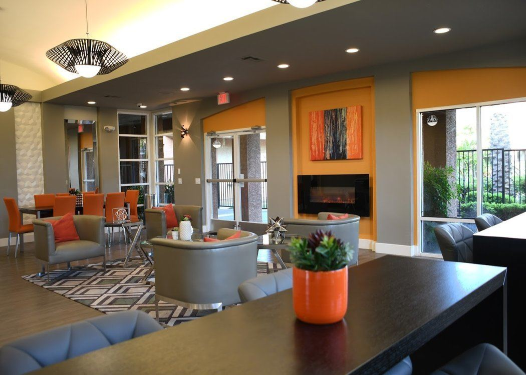 Clubhouse at Tuscany Village Apartments