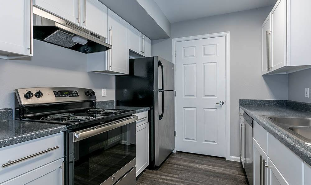 Kitchen at The Bluffs at Castle Rock Apartments