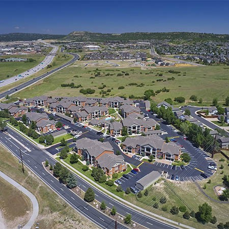 Neighborhood photo of The Bluffs at Castle Rock Apartments in Castle Rock