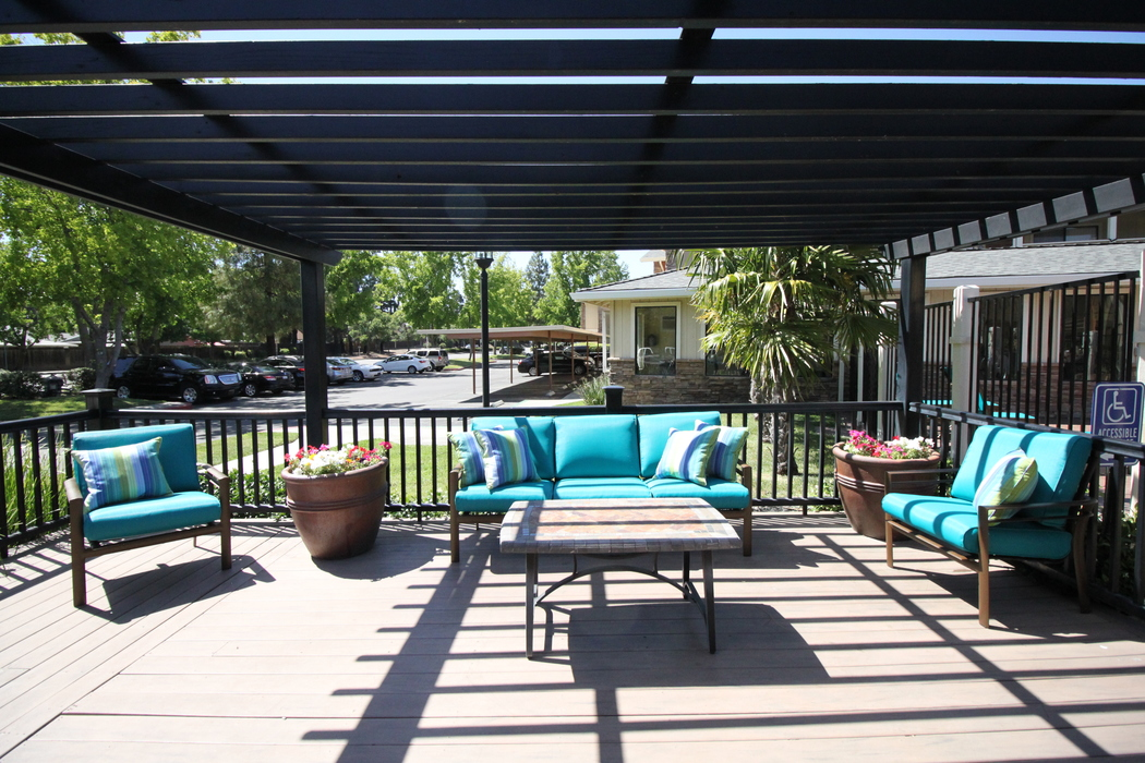 Leasing center at Sommerset Apartments in Vacaville