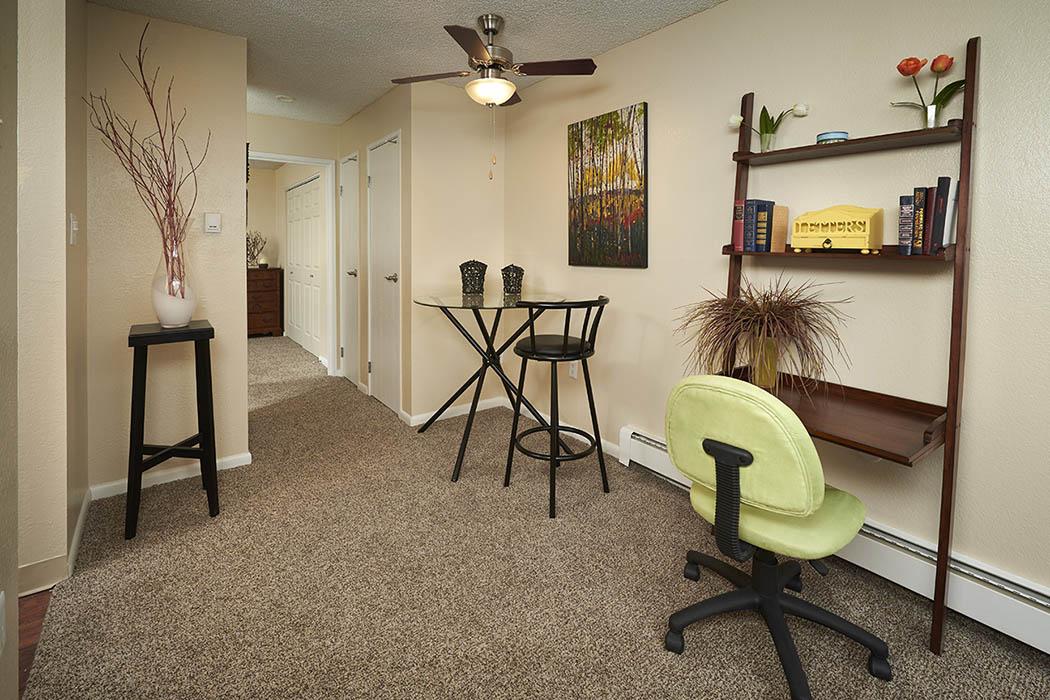 Small model home to tour at Mountain Vista Apartments