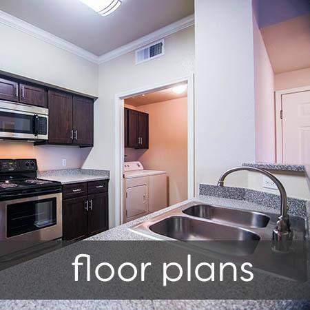 Floor plans at Hawthorn Village Apartments