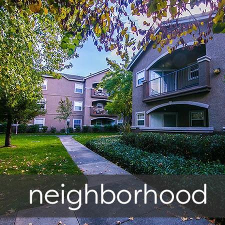 neighborhood at Hawthorn Village Apartments