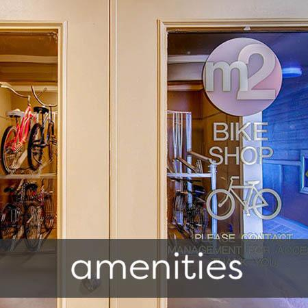 Amenities at M2 Apartments