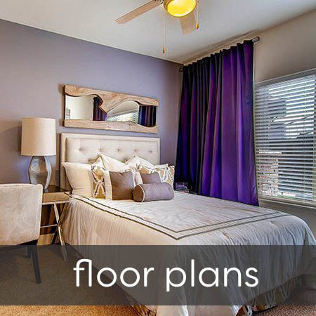 Floor plans at M2 Apartments