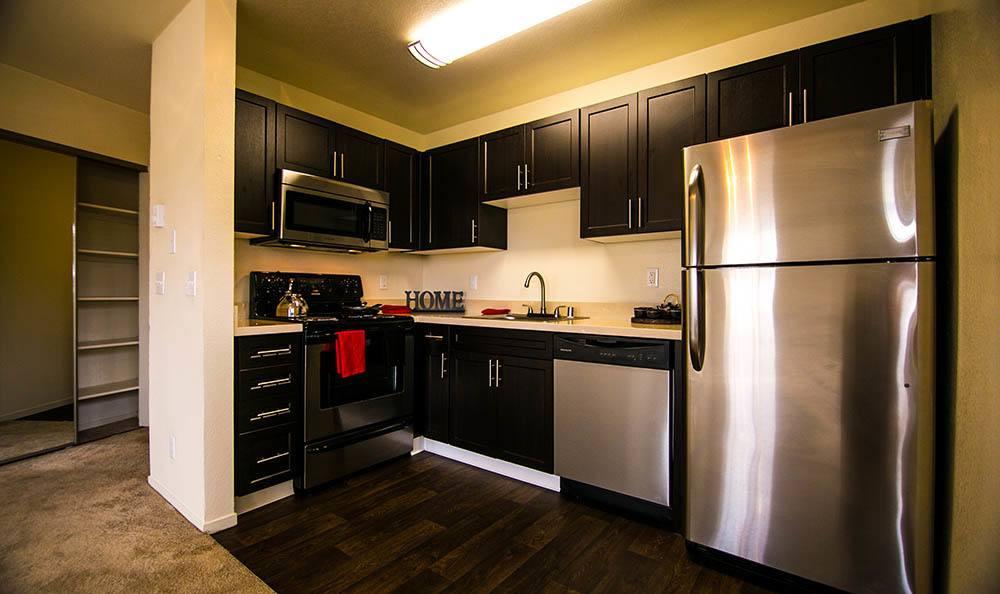 Kitchen at Serramonte Ridge Apartment Homes