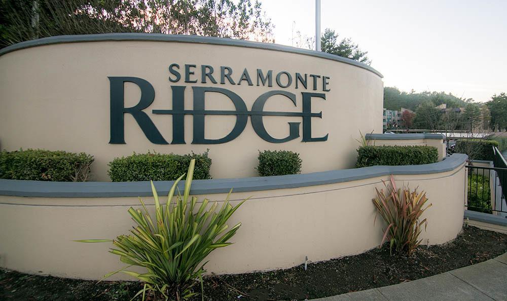 Signage at Serramonte Ridge Apartment Homes