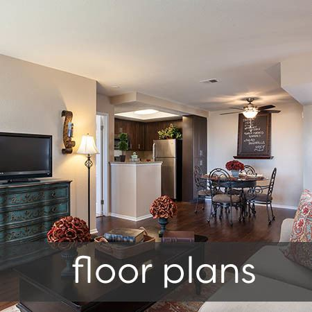 Floor plans at Village Oaks
