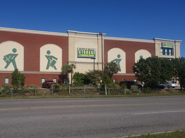 Self Storage Units Tanger Outlets Myrtle Beach Sc