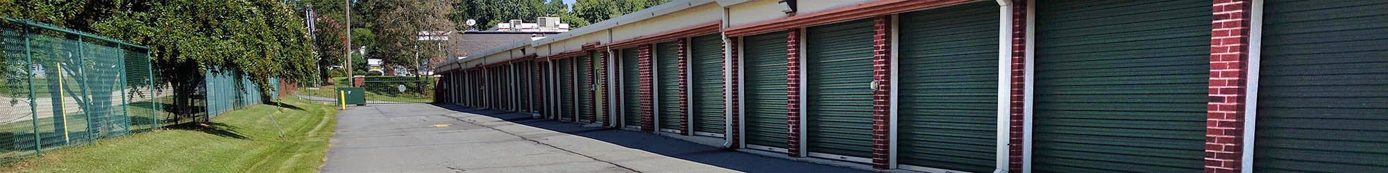 Drive-up storage at Reynolda Storage