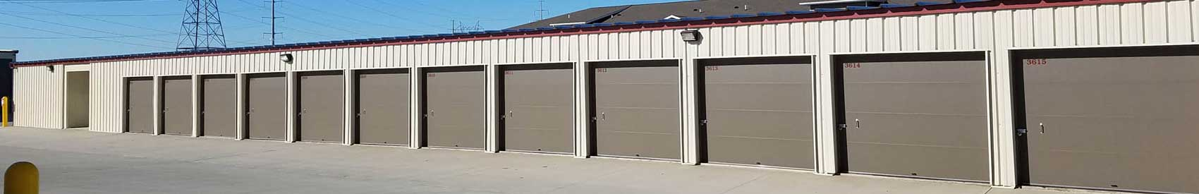 Learn more about our self storage facility in Bismarck ND; contact us today!