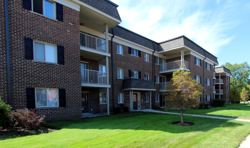 Apartments exterior at Cypress Place